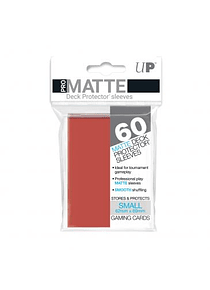 60ct Pro-Matte Red Small Deck Protectors (Back Order)