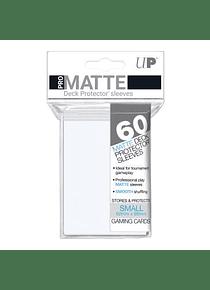 60ct Pro-Matte White Small Deck Protectors (Back Order)