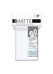 60ct Pro-Matte White Small Deck Protectors