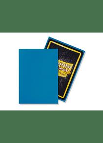 Micas Dragon Shield -  Sky Blue  Matte 100 Standard Size (Back Order)