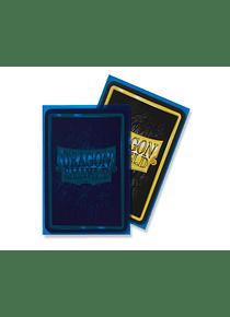 Micas Dragon Shield - Clear Blue Matte 100 Standard Size (Back Order)