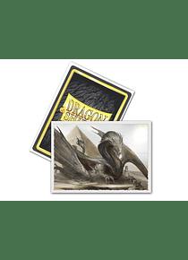 Micas Dragon Shield -  'Sphinx Dragon' - Matte 100 Standard Size  Art (Back Order)