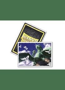 Micas Dragon Shield - 'Dragon of Liberty' - Matte 100 Standard Size Art (Back Order)