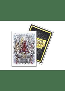 Micas Dragon Shield - 'Lane Thunderhoof' - Brushed 100 Standard Size Art (Back Order)