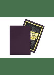 Micas Dragon Shield - Purple Matte Non-Glare  100 Standard Size (Back Order)