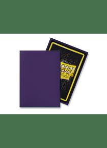 Micas Dragon Shield Purple Matte 60 Standard Size (back Order)