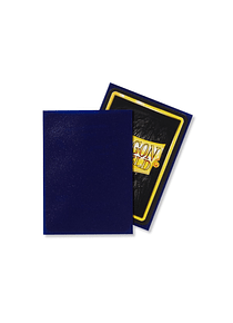Micas Dragon Shield Night Blue Matte 100 Standard Size (back Order)
