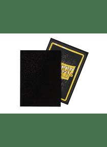 Micas Dragon Shield - Black Matte Non-Glare 100 Standard Size (Back Order)