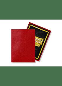 Micas Dragon Shield Ruby Matte 100 Standard Size (back Order)