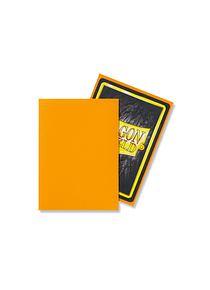 Micas Dragon Shield Orange Matte 100 Standard Size (back Order)