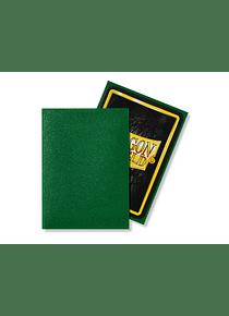 Micas Dragon Shield Emerald Matte 100 Standard Size (back Order)