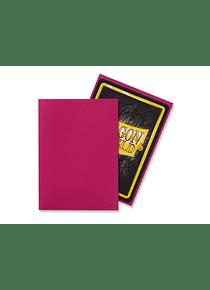 Micas Dragon Shield - Magenta Matte 100 Standard Size (Back Order)