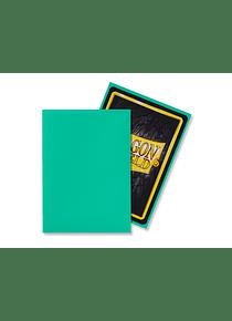 Micas Dragon Shield - Mint Matte 100 Standard Size (Back Order)