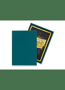 Micas Dragon Shield - Petrol Matte 100 Standard Size (Back Order)
