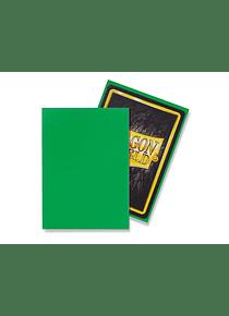 Micas Dragon Shield - Apple Green Matte 100 Standard Size (Back Order)