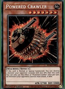 Powered Crawler - BLAR-EN002 - Secret Rare