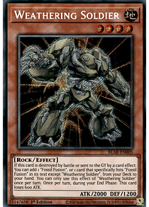 Weathering Soldier - BLAR-EN005 - Secret Rare