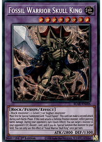 Fossil Warrior Skull King - BLAR-EN006 - Secret Rare