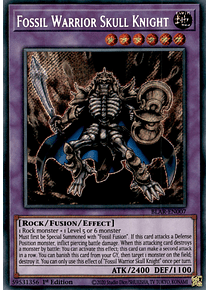 Fossil Warrior Skull Knight - BLAR-EN007 - Secret Rare