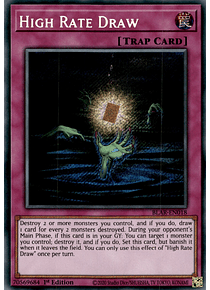 High Rate Draw - BLAR-EN018 - Secret Rare