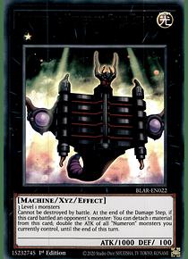 Number 1: Numeron Gate Ekam - BLAR-EN022 - Ultra Rare