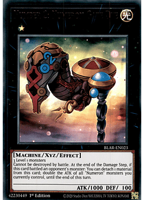 Number 2: Numeron Gate Dve - BLAR-EN023 - Ultra Rare