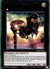 Number 3: Numeron Gate Trini - BLAR-EN024 - Ultra Rare