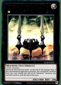 Number 4: Numeron Gate Catvari - BLAR-EN025 - Ultra Rare