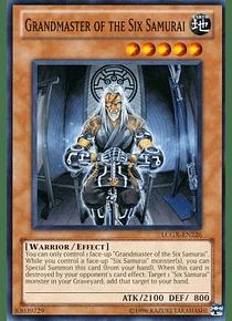 Grandmaster of the Six Samurai - LCGX-EN226 - Common