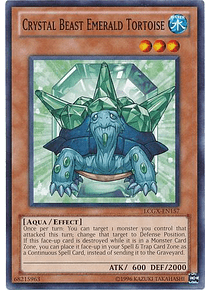 Crystal Beast Emerald Tortoise - LCGX-EN157 - Common