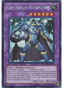 Gem-Knight Aquamarine - HA05-EN020 - Secret Rare