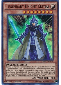 Legendary Knight Critias - DRL3-EN056 - Ultra Rare