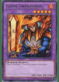 Flame Swordsman - MIL1-EN038 - Rare