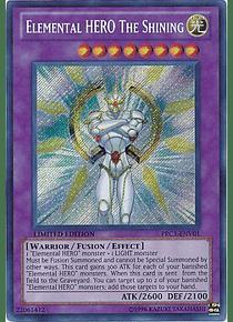 Elemental Hero The Shining - PRC1-ENV01 - Secret Rare