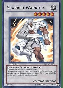 Scarred Warrior - PRC1-EN013 - Super Rare