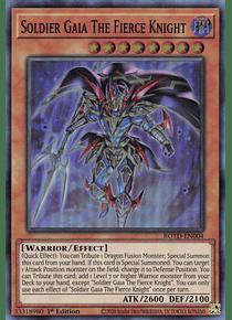 Soldier Gaia The Fierce Knight - ROTD-EN004 - Super Rare