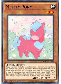 Melffy Pony - ROTD-EN020 - Common