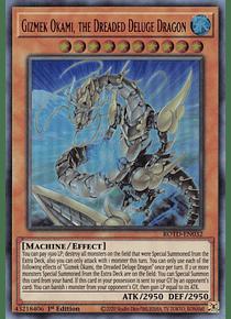 Gizmek Okami, the Dreaded Deluge Dragon - ROTD-EN032 - Ultra Rare