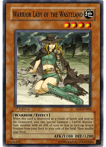 Warrior Lady of the Wasteland - SD5-EN002 - Common