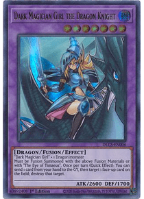 Dark Magician Girl the Dragon Knight - DLCS-EN006 - Ultra Rare