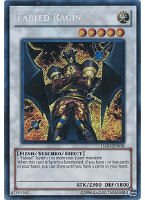 Fabled Ragin - HA03-EN058 - Secret Rare