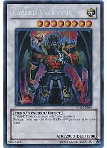 Fabled Valkyrus - HA02-EN056 - Secret Rare