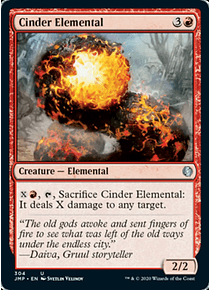 Cinder Elemental - JMP - U