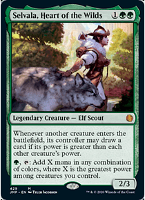 Selvala, Heart of the Wilds - JMP - M