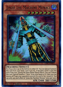 Jinzo the Machine Menace - LED7-EN031 - Ultra Rare