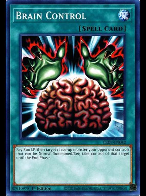 Brain Control - LED7-EN042 - Common