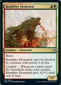 Brushfire Elemental - ZNR - U