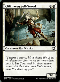 Cliffhaven Sell-Sword - ZNR - C