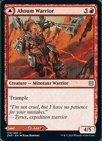 Akoum Warrior - ZNR - U
