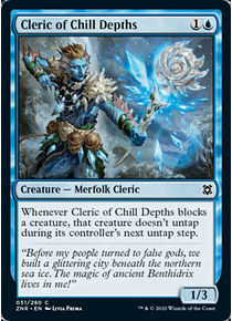 Cleric of Chill Depths - ZNR - C
